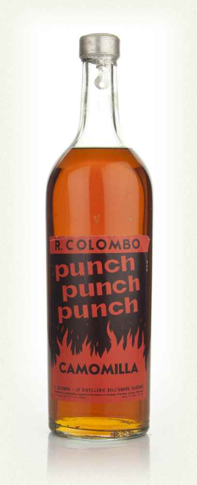 R. Colombo Camomilla Punch - 1960s