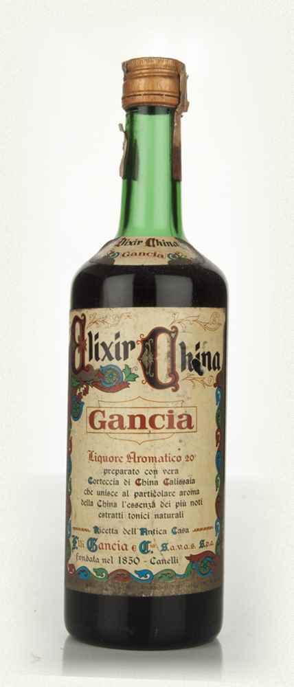 Gancia Elixir China - 1970s