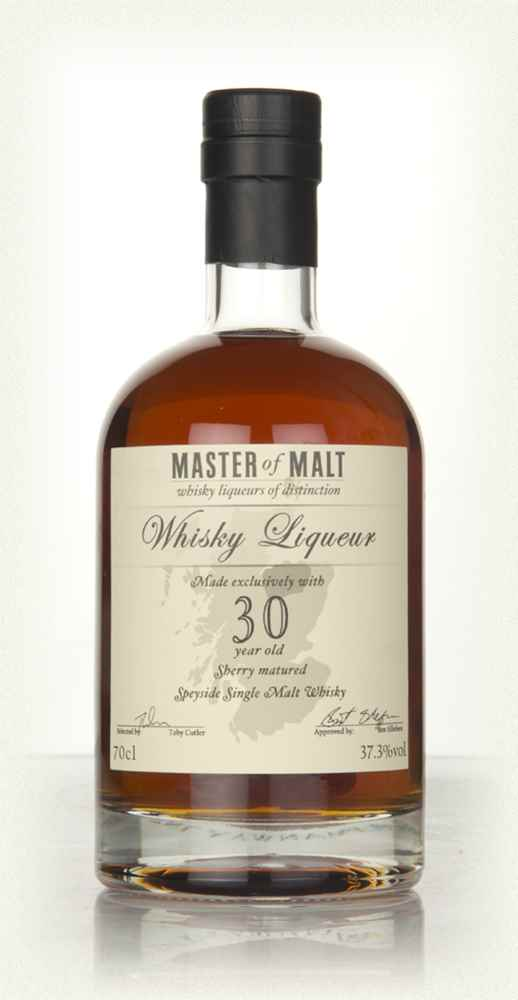 Master of Malt 30 Year Old Speyside Whisky Liqueur