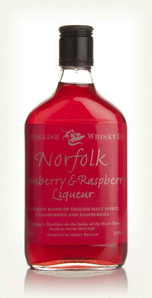 Norfolk Cranberry and Raspberry Liqueur 35cl