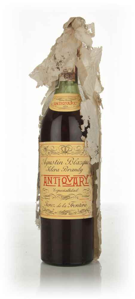 Augustin Blazque Antiquary Brandy 70cl - 1960s