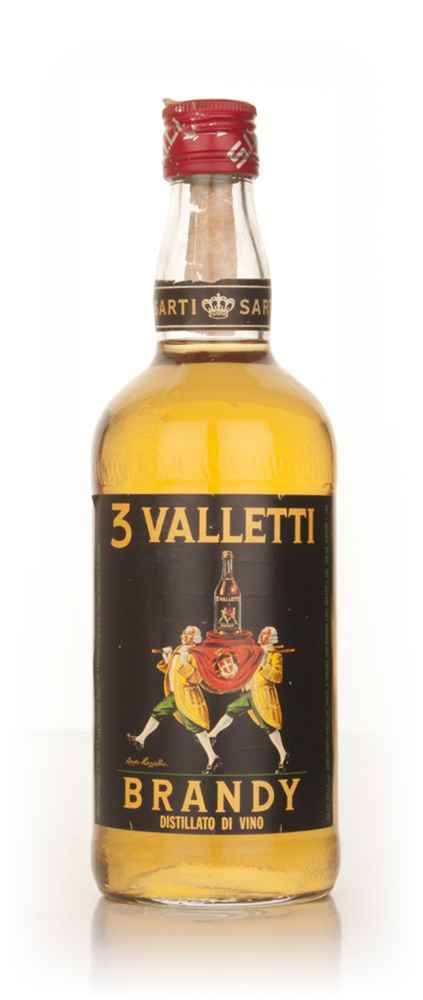 Sarti 3 Valletti Brandy - 1970s
