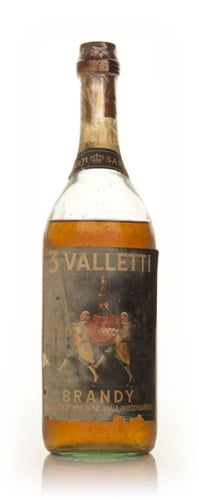 Sarti 3 Valletti Brandy - 1960s