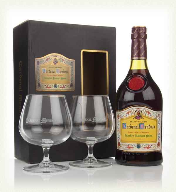 Cardenal Mendoza Solera Gran Reserva Gift Set With Two Glasses