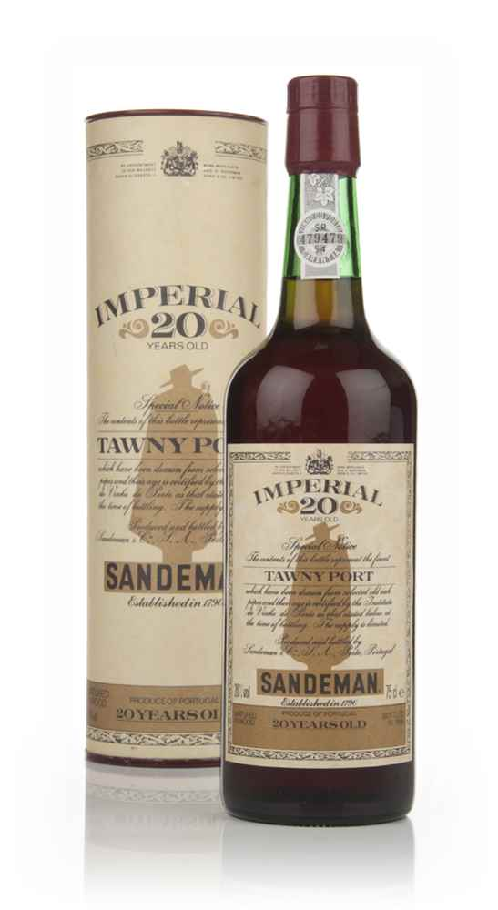 Sandeman Imperial 20 Year Old Tawny Port	- 1988
