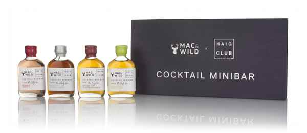 Mac & Wild x Haig Club Cocktail Minibar Set