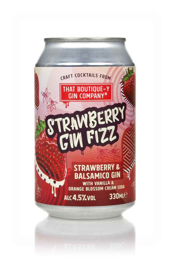 That Boutique-y Gin Company Strawberry Gin Fizz