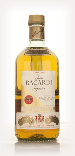 Bacardi Amber Label - 1970s