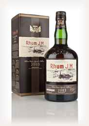 Rhum J.M Vintage 2003 3cl Sample