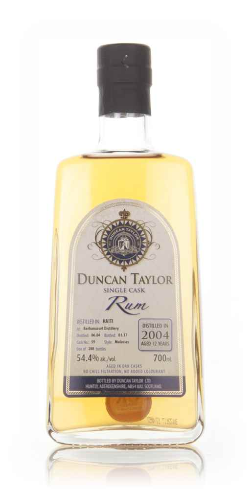 Barbancourt 12 Year Old 2004 (cask 59) - Single Cask Rum (Duncan Taylor)