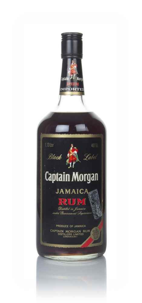 Captain Morgan Black Label (1.13L) - 1980s