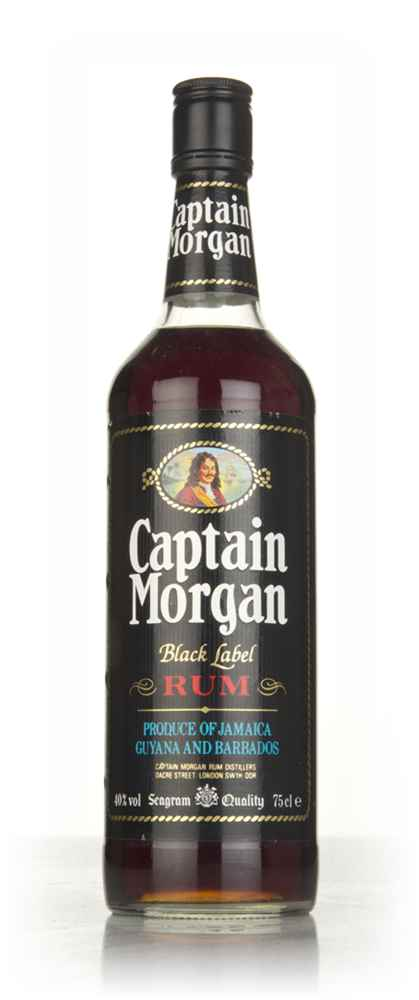 Captain Morgan Black Label - 1990s