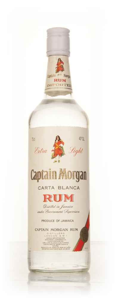 Captain Morgan Carta Blanca Extra Light - 1980s