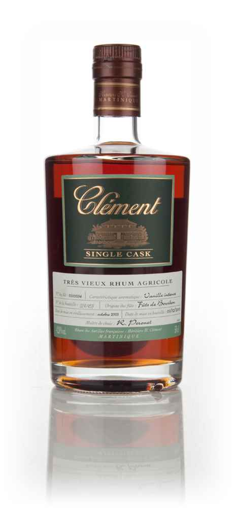 Clément 10 Year Old 2003 (cask 0310054) - Single Cask