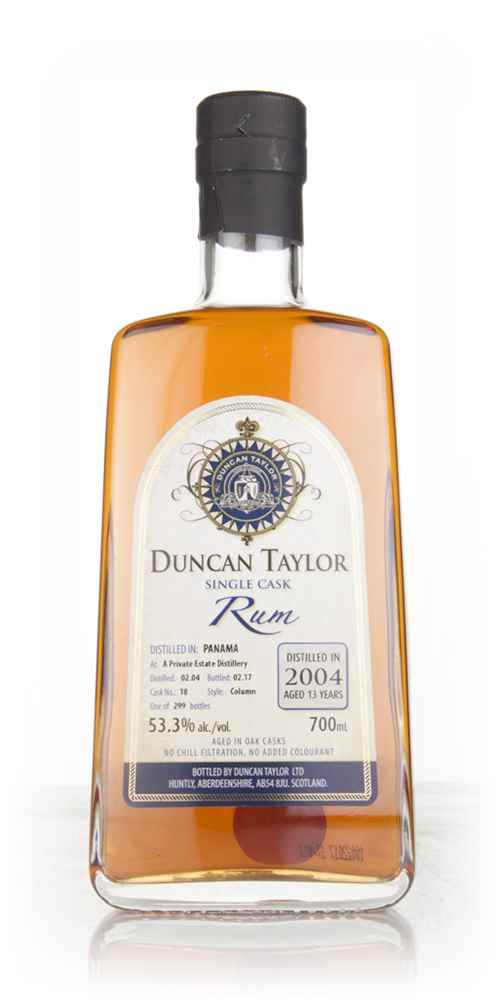 Panama Rum 13 Year Old 2004 (cask 18) - Single Cask Rum (Duncan Taylor)