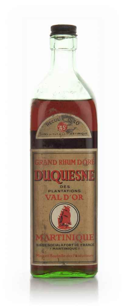 Duquesne Martinique Rhum - 1960s