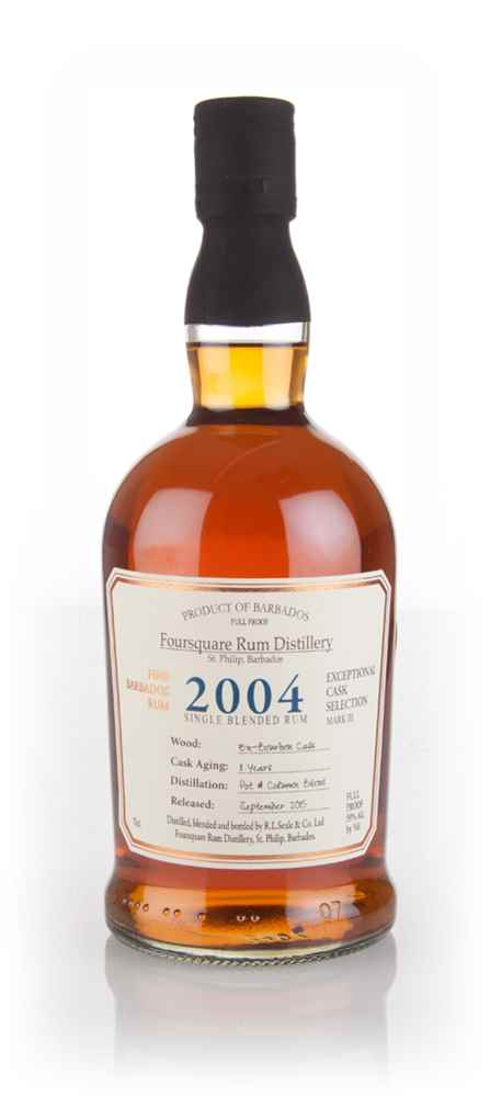 Foursquare 11 Year Old 2004 - Exceptional Cask Selection