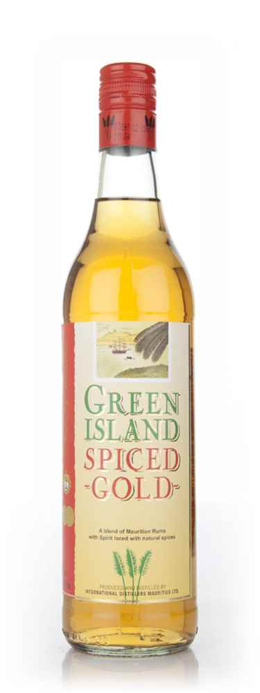 Green island spiced gold rum master of malt for What goes good with spiced rum