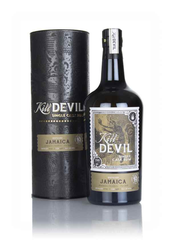 Hampden 10 Year Old 2007 Jamaican Rum - Kill Devil (Hunter Laing)