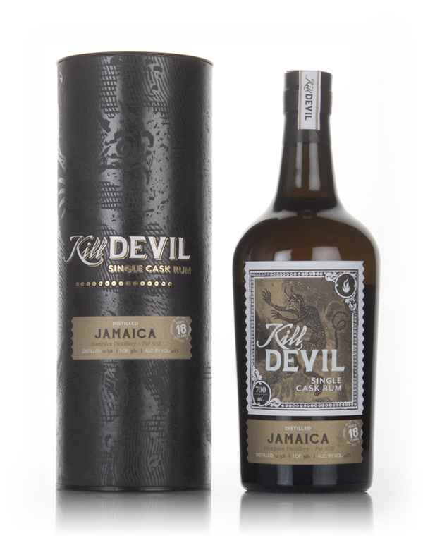 Hampden 18 Year Old 1998 Jamaican Rum - Kill Devil (Hunter Laing)