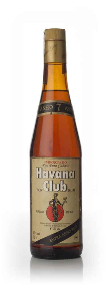 Havana Club Añejo 7 Años - early 1980s