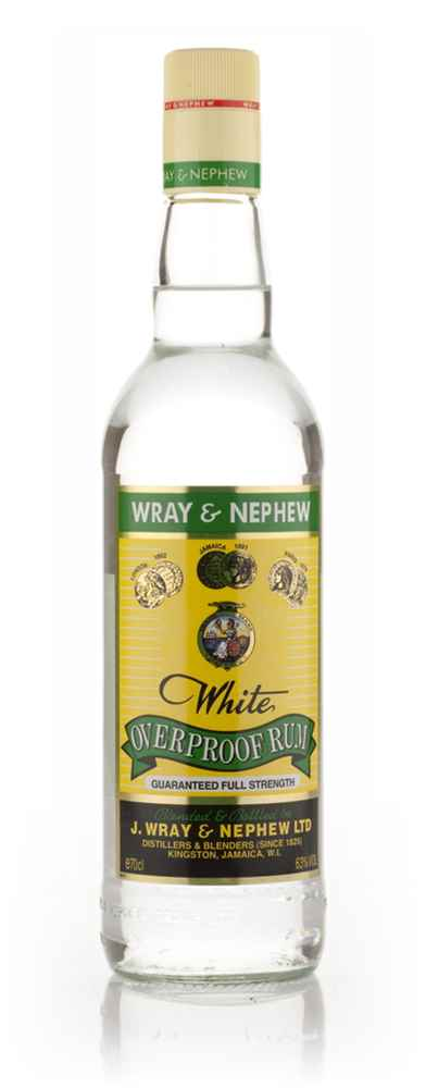 J Wray and Nephew White Overproof