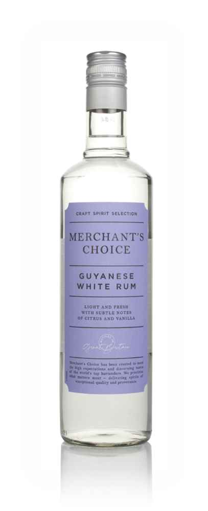 Merchant's Choice White Rum