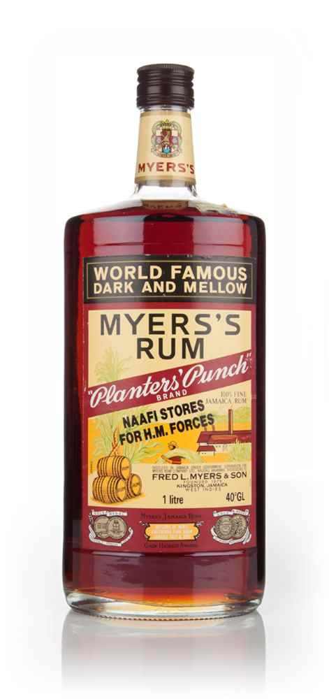 Myers's Planters' Punch Rum - 1980s