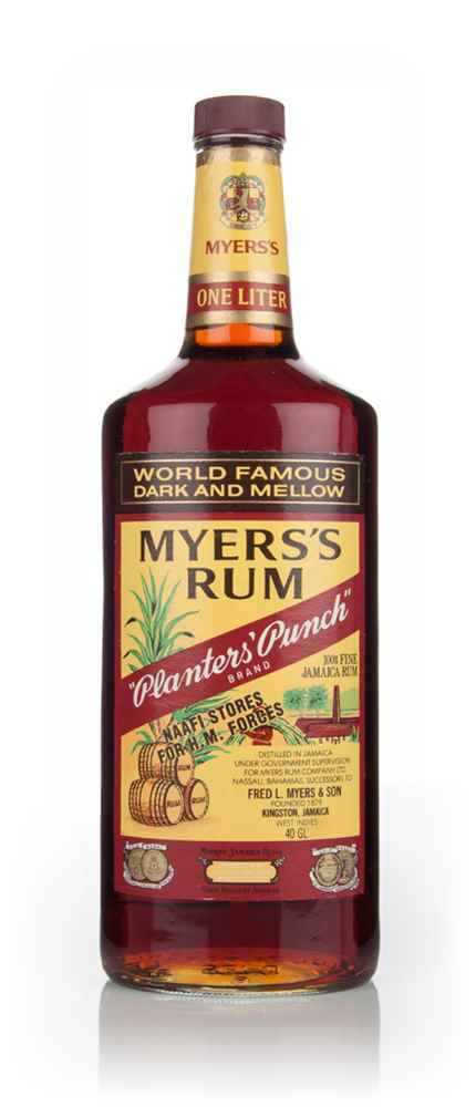 Myers's Planters' Punch Rum - 1981