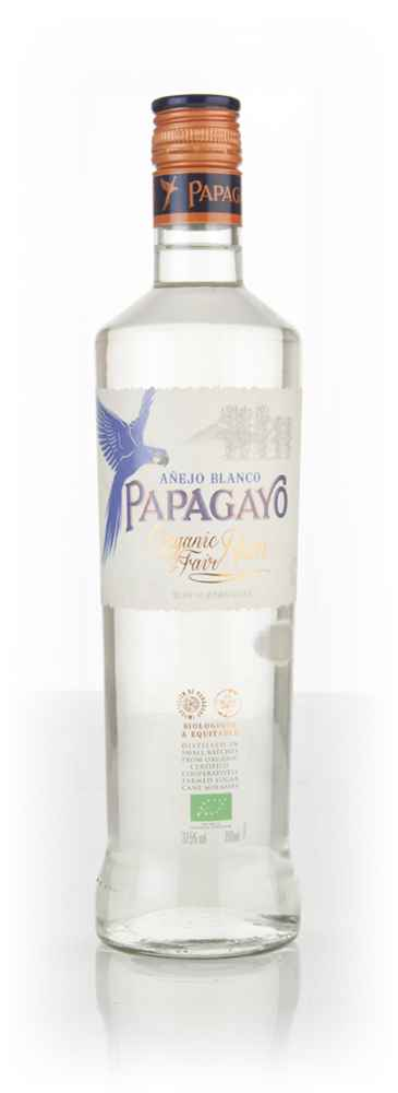 Papagayo Organic Fairtrade White Rum