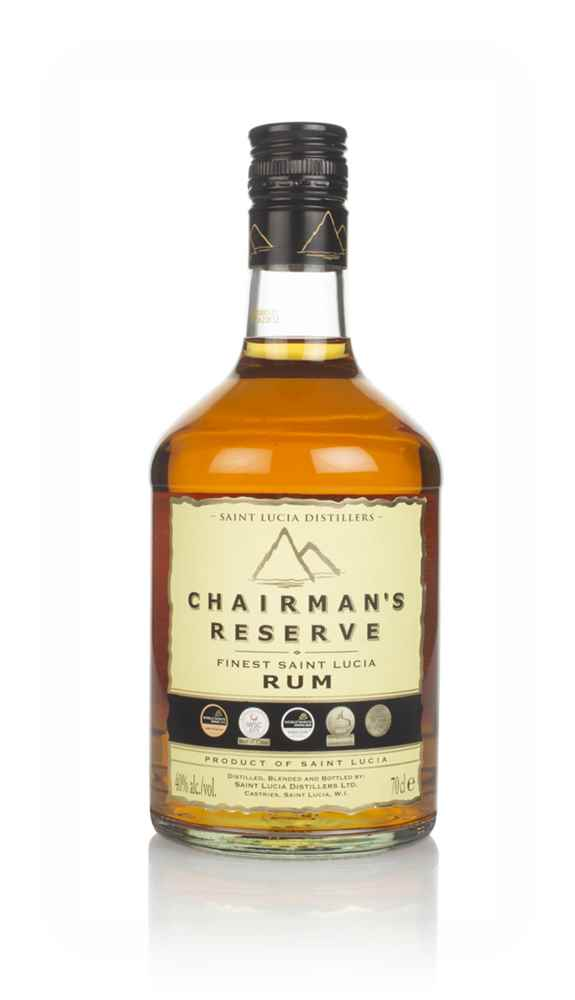 Chairman's Reserve Finest St Lucia Rum (Old Bottle)