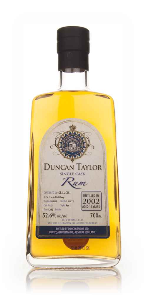 St Lucia Rum 11 Year Old 2002 (cask 5) - Single Cask Rum (Duncan Taylor)