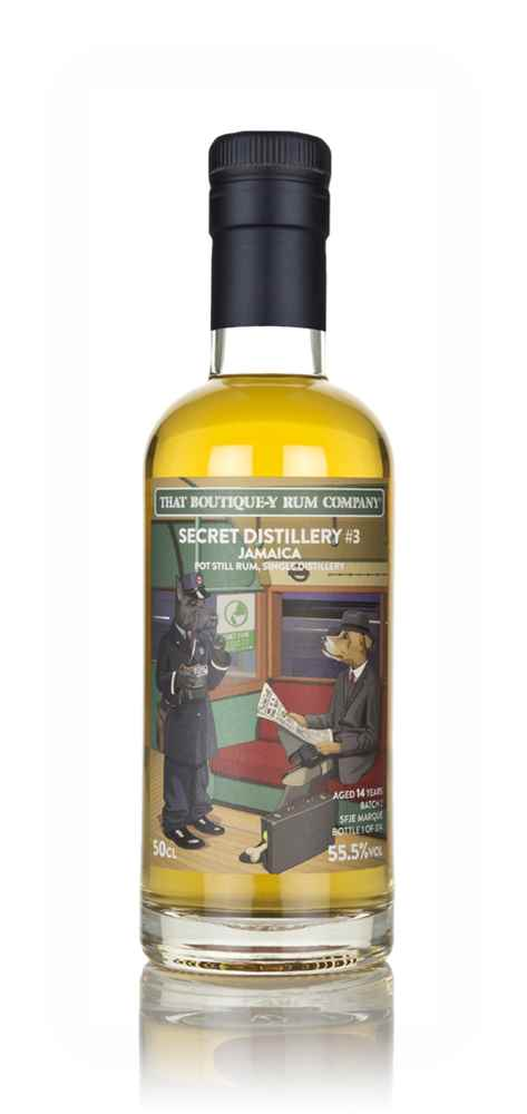 Secret Distillery #3 14 Year Old (That Boutique-y Rum Company)
