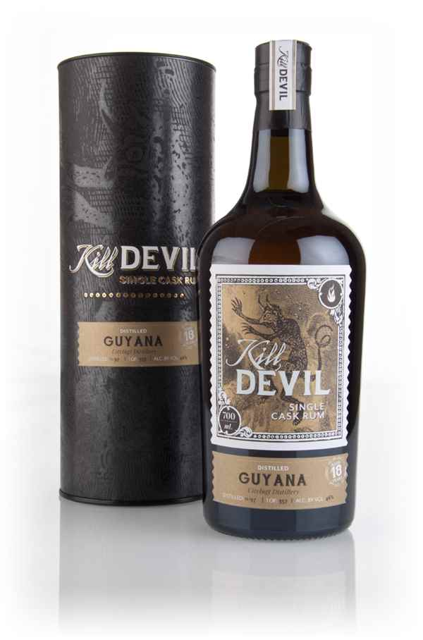 Uitvlugt 18 Year Old 1997 Guyanese Rum - Kill Devil (Hunter Laing)