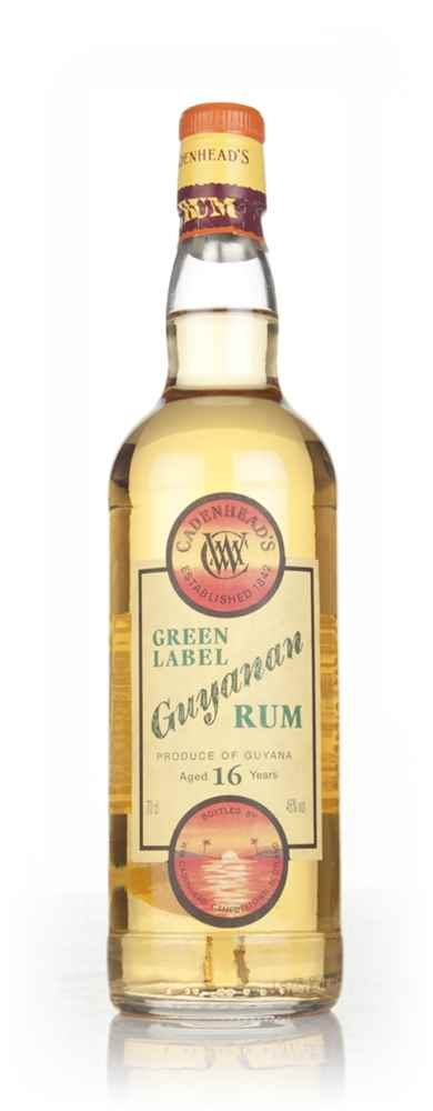 WM Cadenhead 16 Year Old Green Label Guyanan Rum
