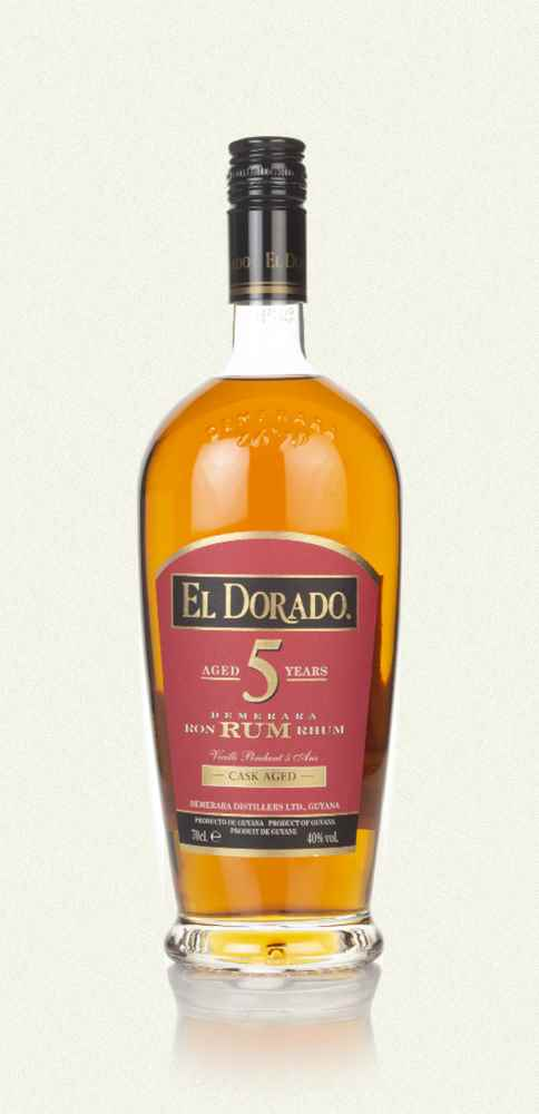 El Dorado 5 Year Old Gold Rum