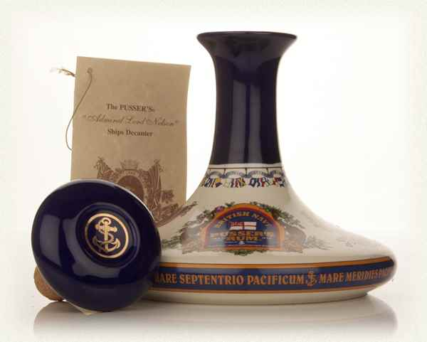 Pusser's Admiral Lord Nelson Ship's Decanter