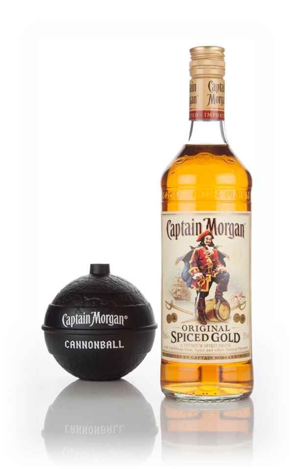 Captain morgan spiced gold with captain 39 s cannonball for What goes good with spiced rum