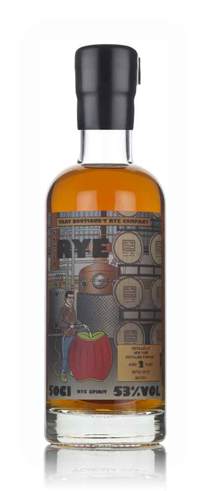 New York Distilling Company 2 Year Old - Batch 1 (That Boutique-y Rye Company)
