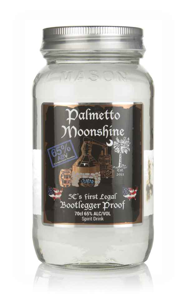 Palmetto Moonshine Bootlegger Proof