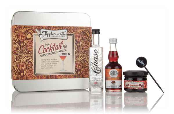 Tipplesworth Dark Chocolate Martini Mini Cocktail Kit (after Best Before Date)