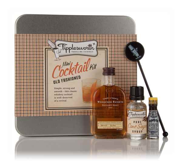 Tipplesworth old fashioned mini cocktail kit spirit for Cocktail 7cl