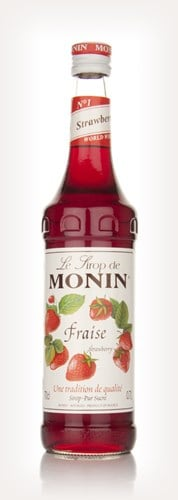 Monin Fraise (Strawberry) Syrup