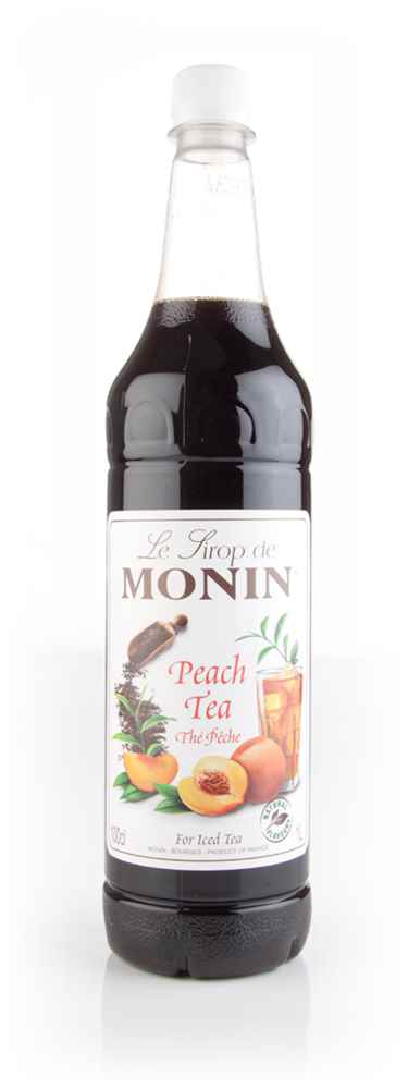 Monin Thé Pêche (Peach Tea) Concentrate 1l