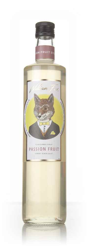 William Fox Passion Fruit Syrup
