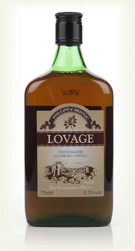 Phillips of Bristol Lovage (Old English Alcoholic Cordial)