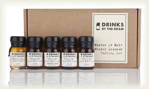 Master of Malt Whisky Liqueur Tasting Set