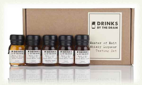 Whisky Liqueur Tasting Set