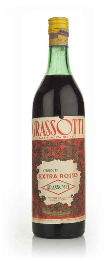 Grassotti Vermouth Extra Rosso - 1960s