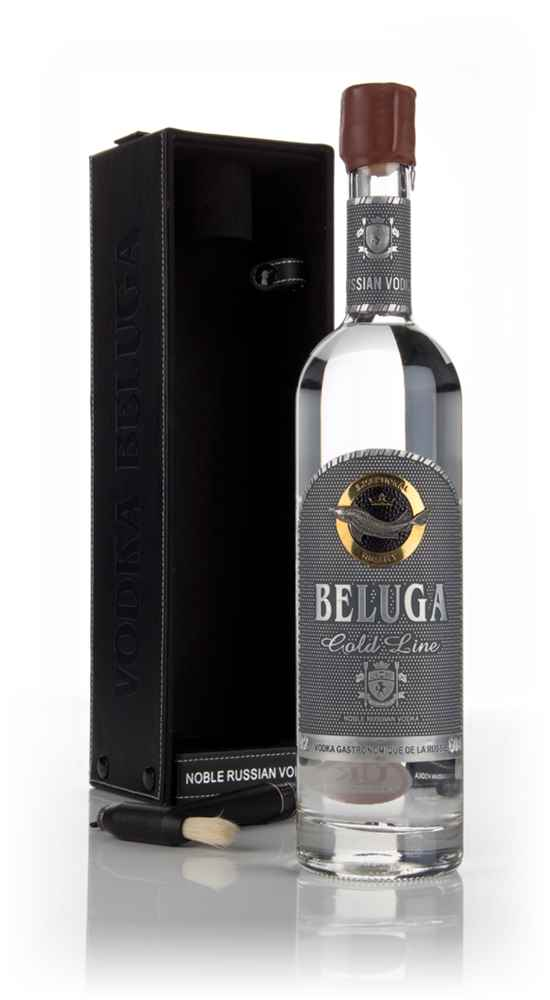 Beluga Gold Line with Leather Gift Box